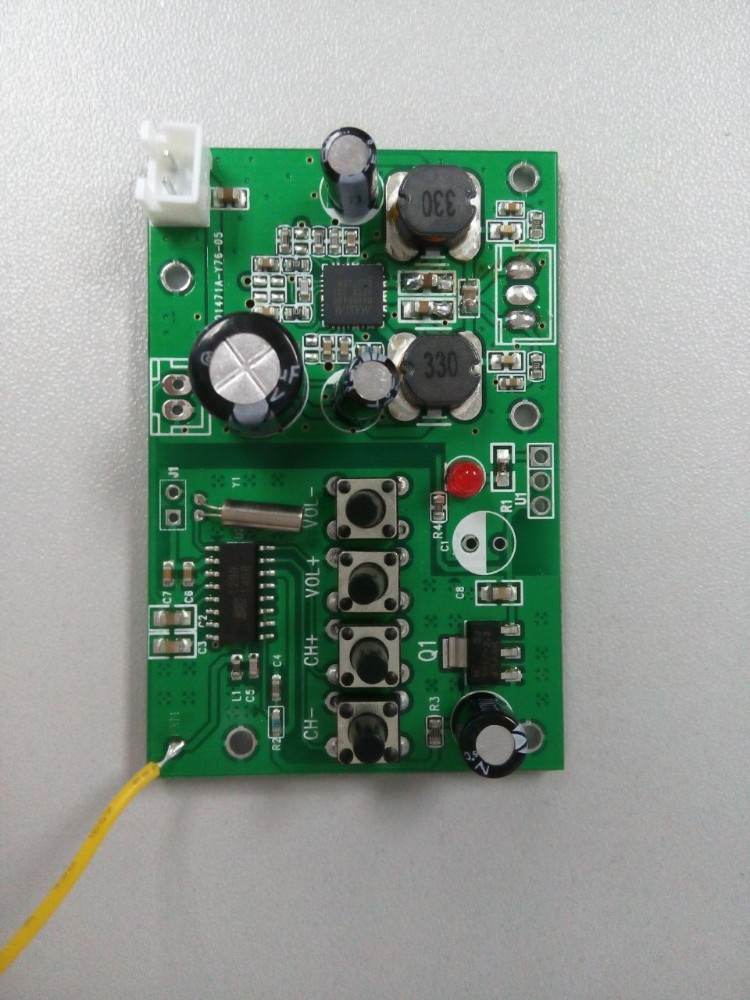 on mp3 player circuit board
