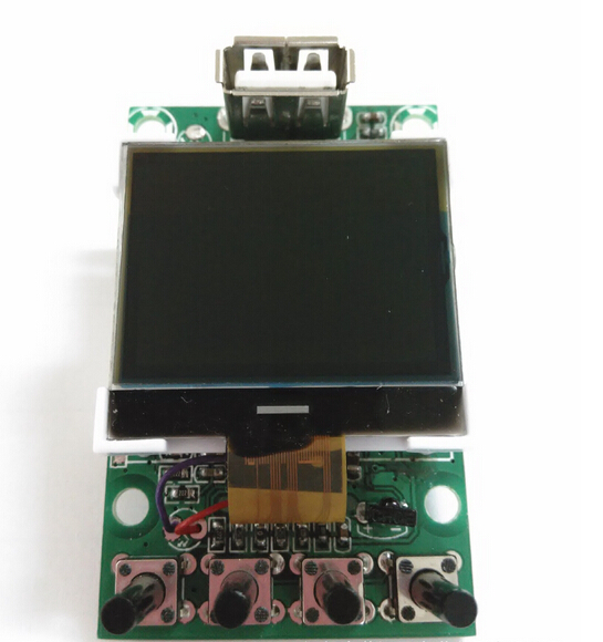 USB bluetooth recording MP3 module with LCD display